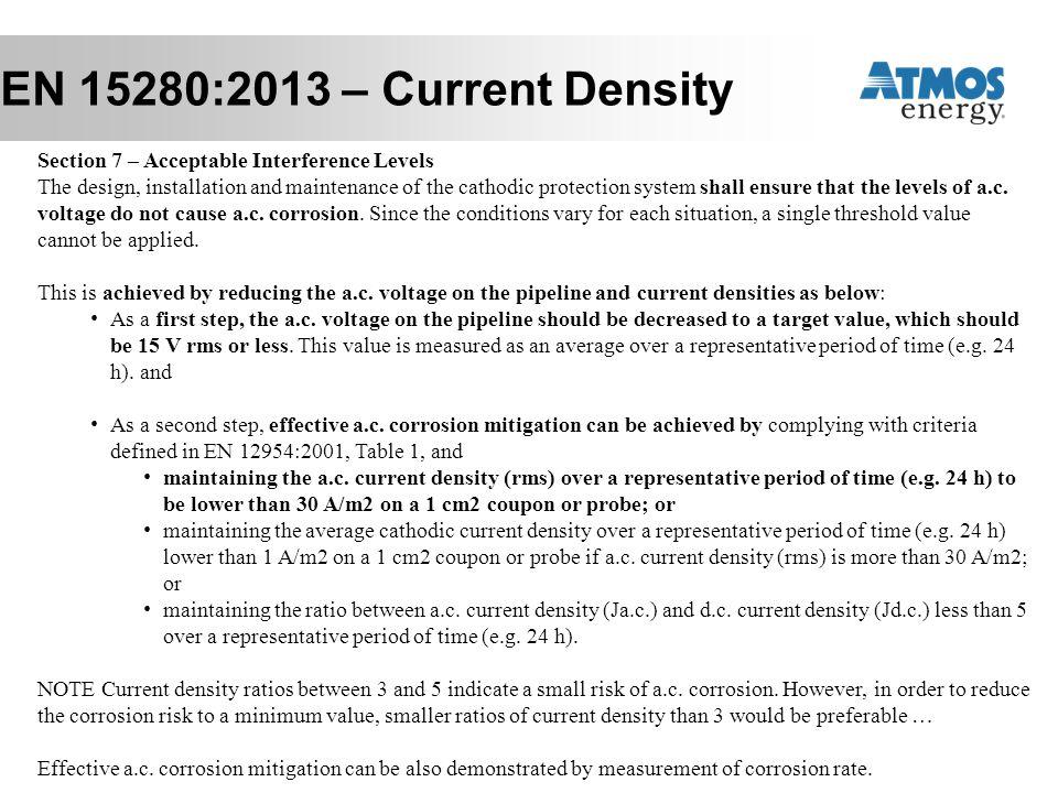 EN 15280:2013 – Current Density