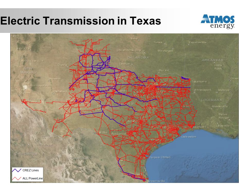 Electric Transmission in Texas