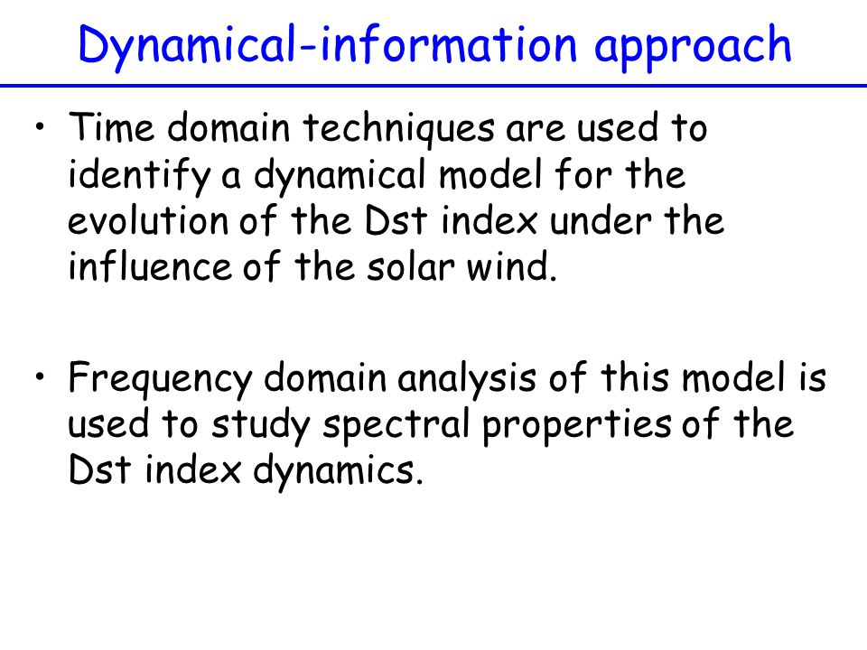 Dynamical-information approach