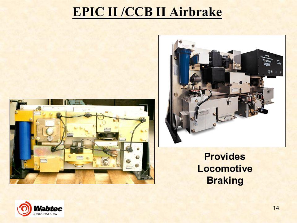 EPIC II /CCB II Airbrake