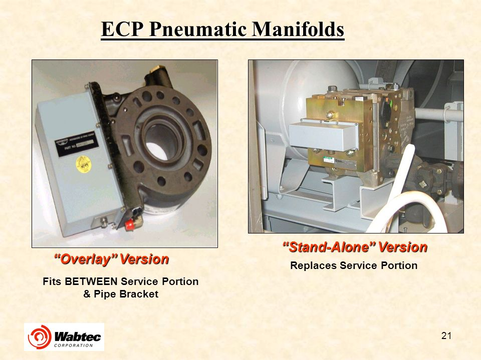 ECP Pneumatic Manifolds
