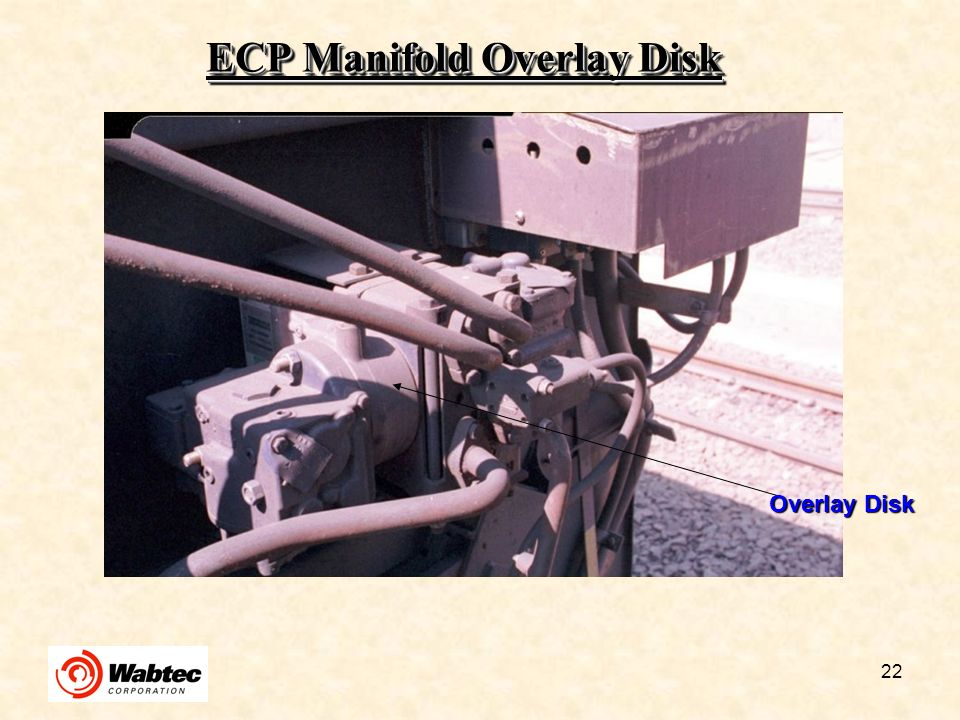 ECP Manifold Overlay Disk