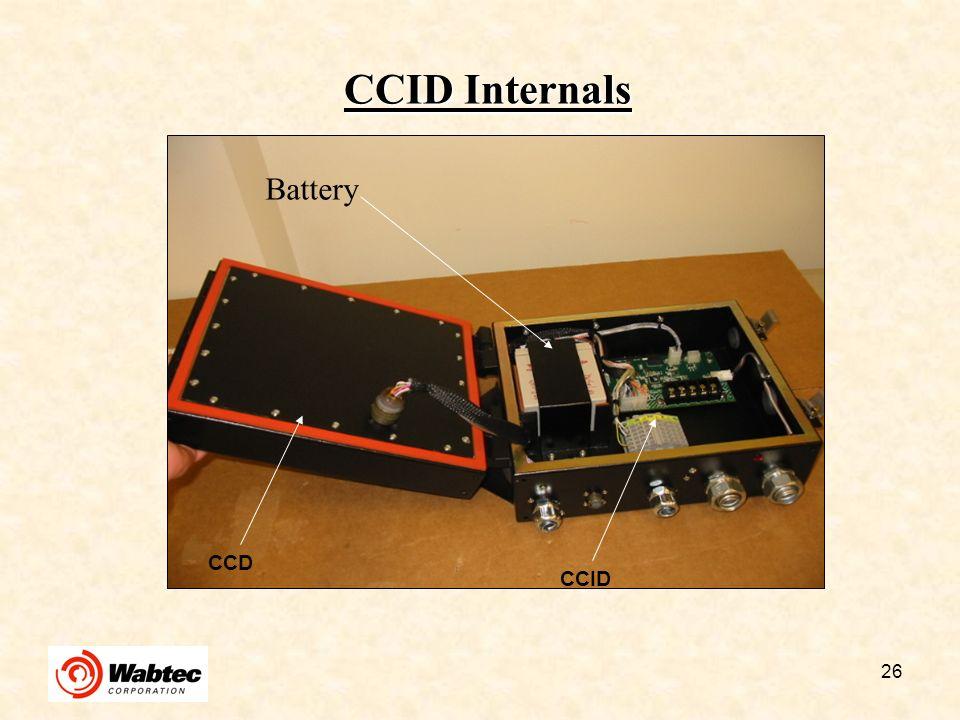 CCID Internals Battery CCD CCID