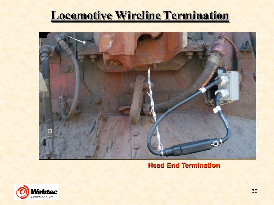 Locomotive Wireline Termination
