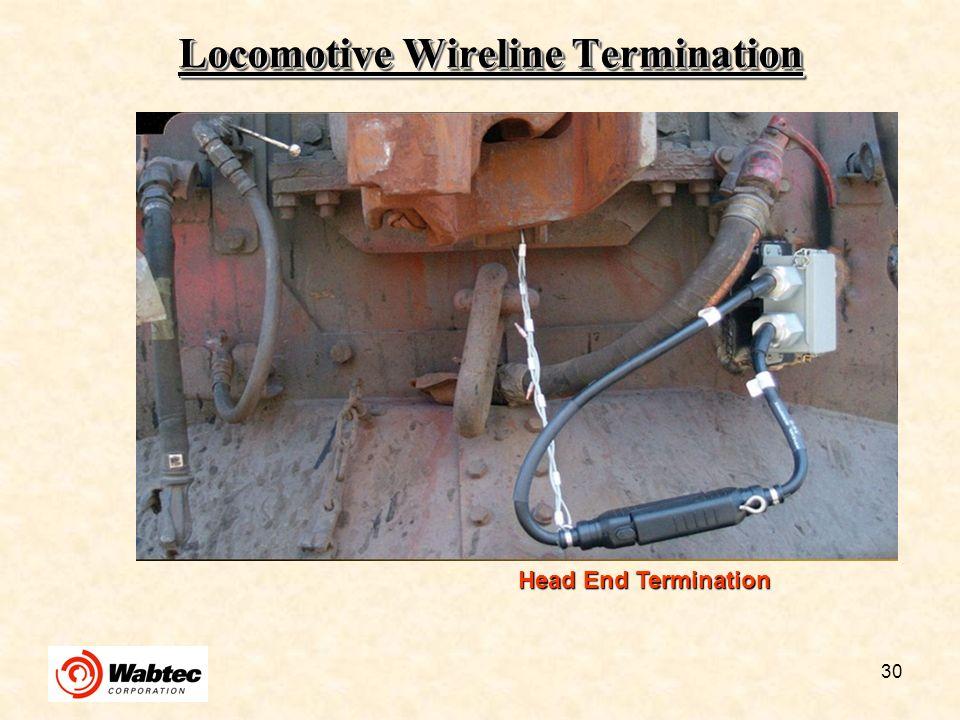 Locomotive Wireline Termination