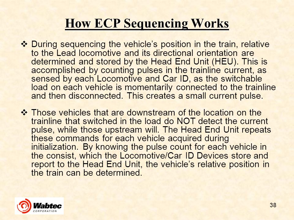 How ECP Sequencing Works
