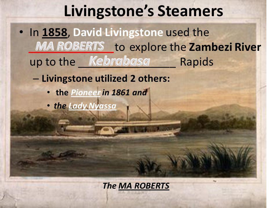 Livingstone's Steamers