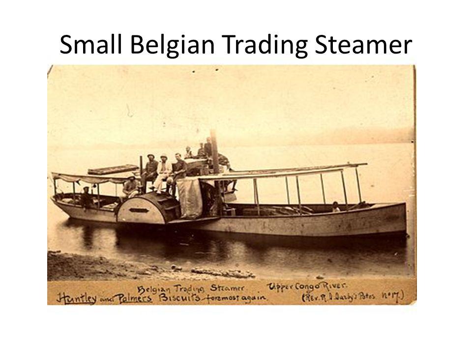 Small Belgian Trading Steamer