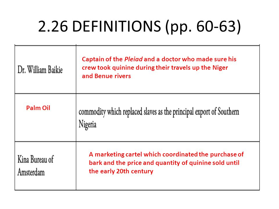 2.26 DEFINITIONS (pp. 60-63)