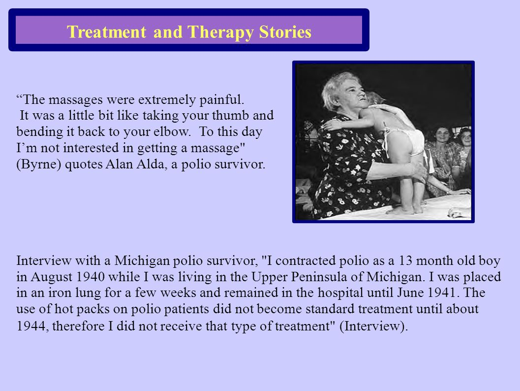 Treatment and Therapy Stories