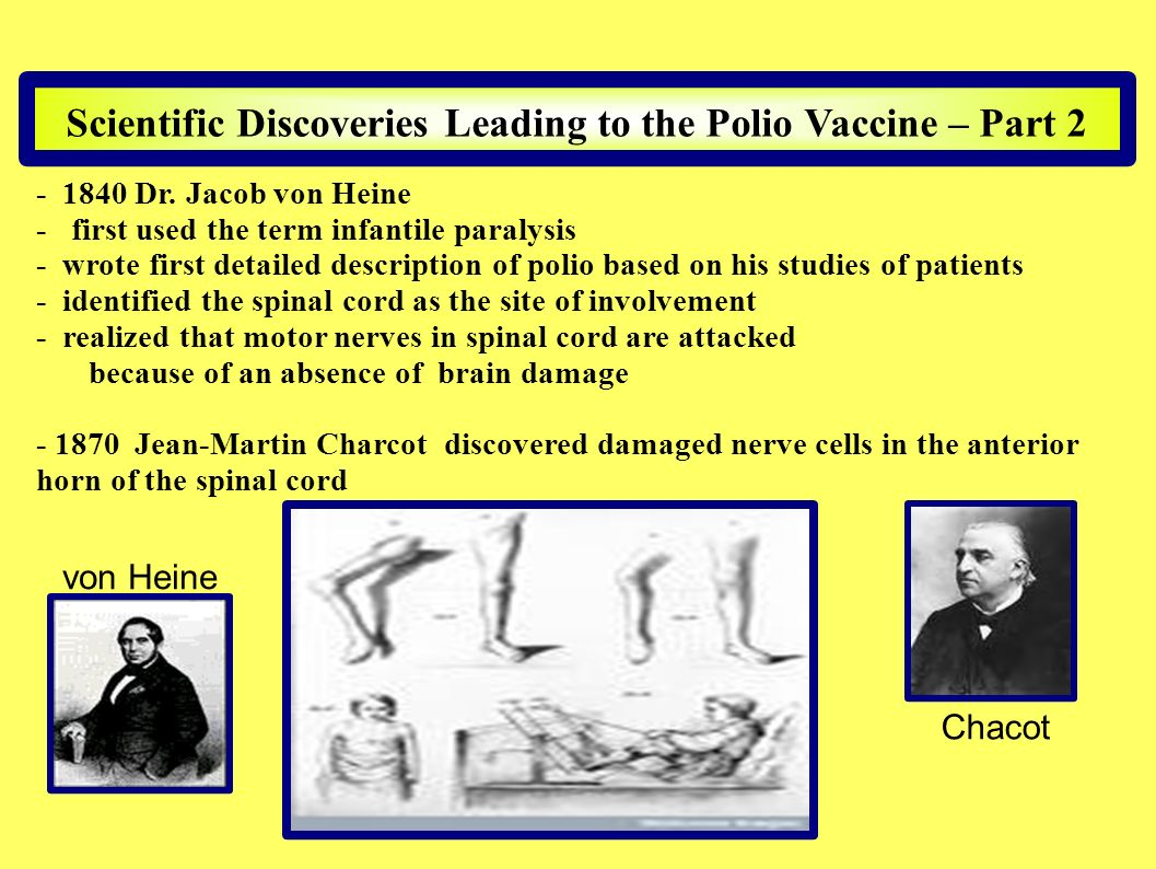 Scientific Discoveries Leading to the Polio Vaccine – Part 2