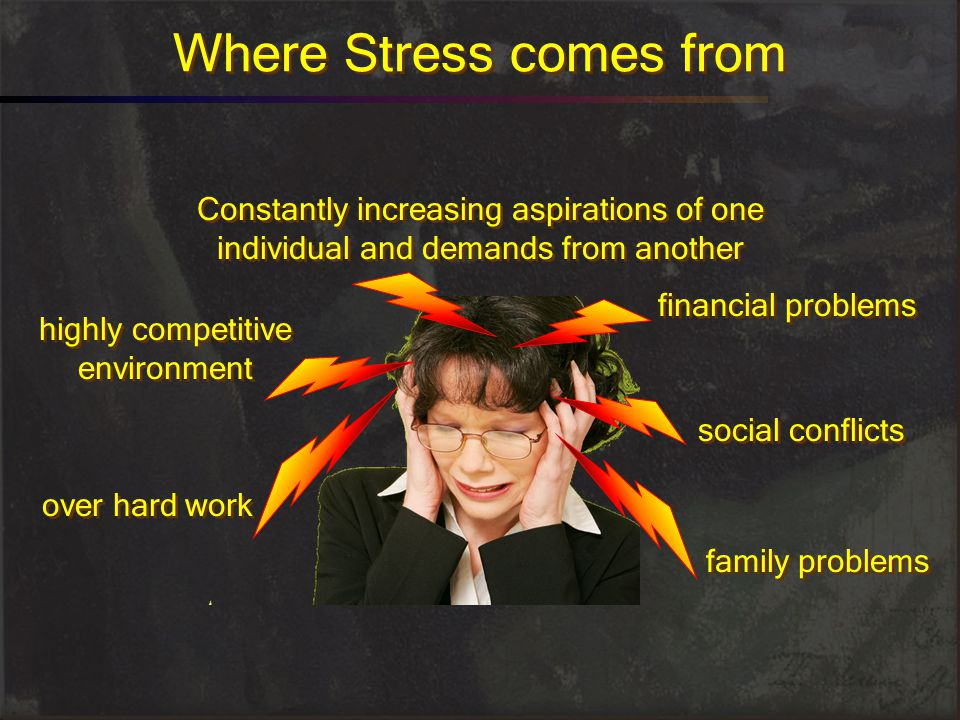 Where Stress comes from