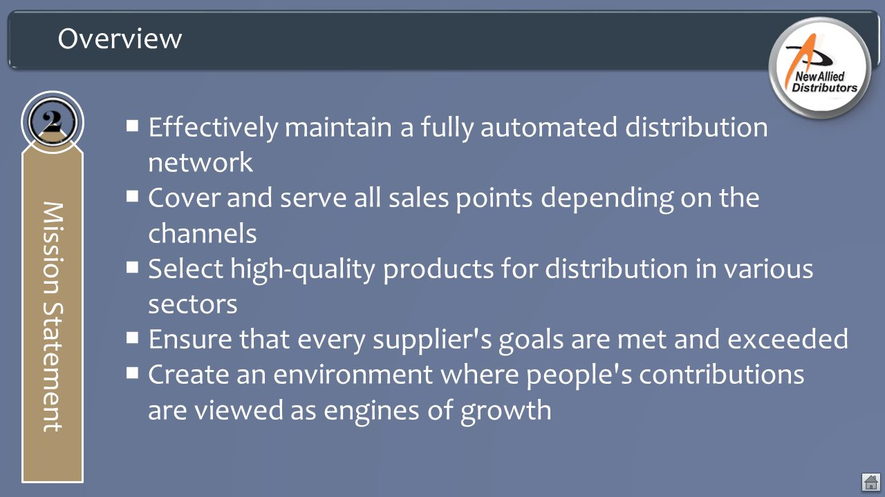 Overview Effectively maintain a fully automated distribution network