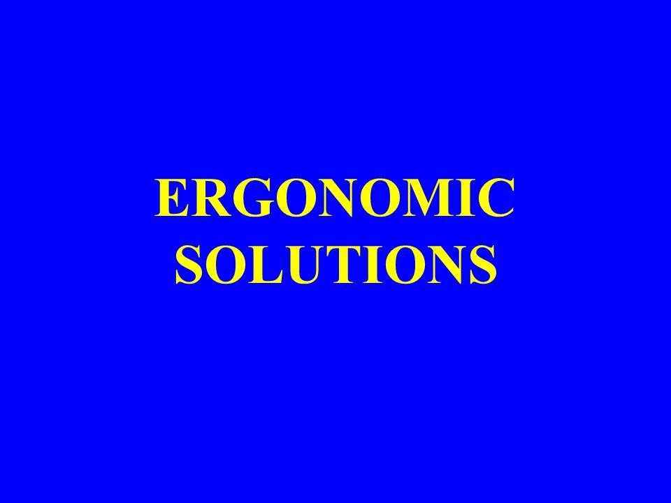 General ERGONOMIC SOLUTIONS