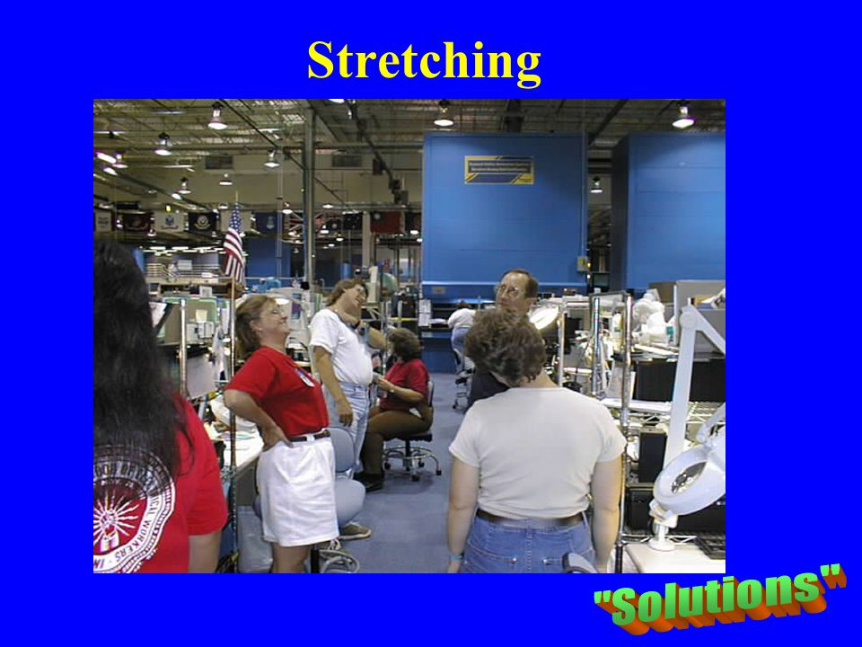 Stretching PRO ATHLETES RAILROAD MAJOR CONSTRUCTION CO. Solutions