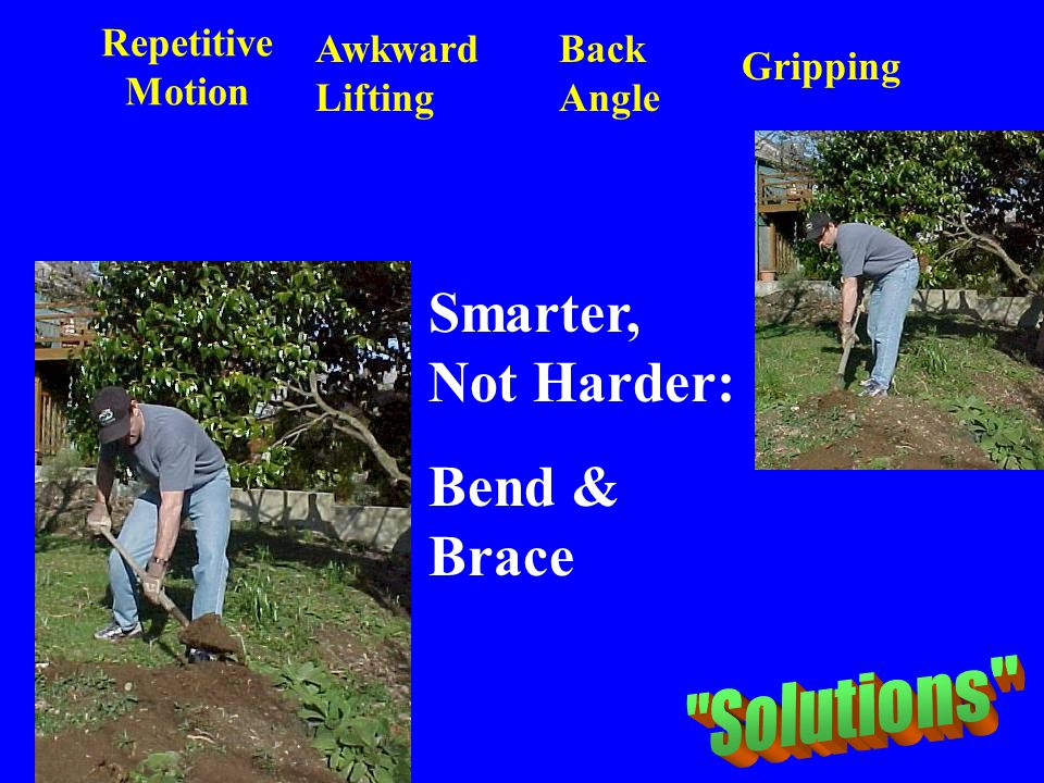 Smarter, Not Harder: Bend & Brace Solutions Repetitive Motion
