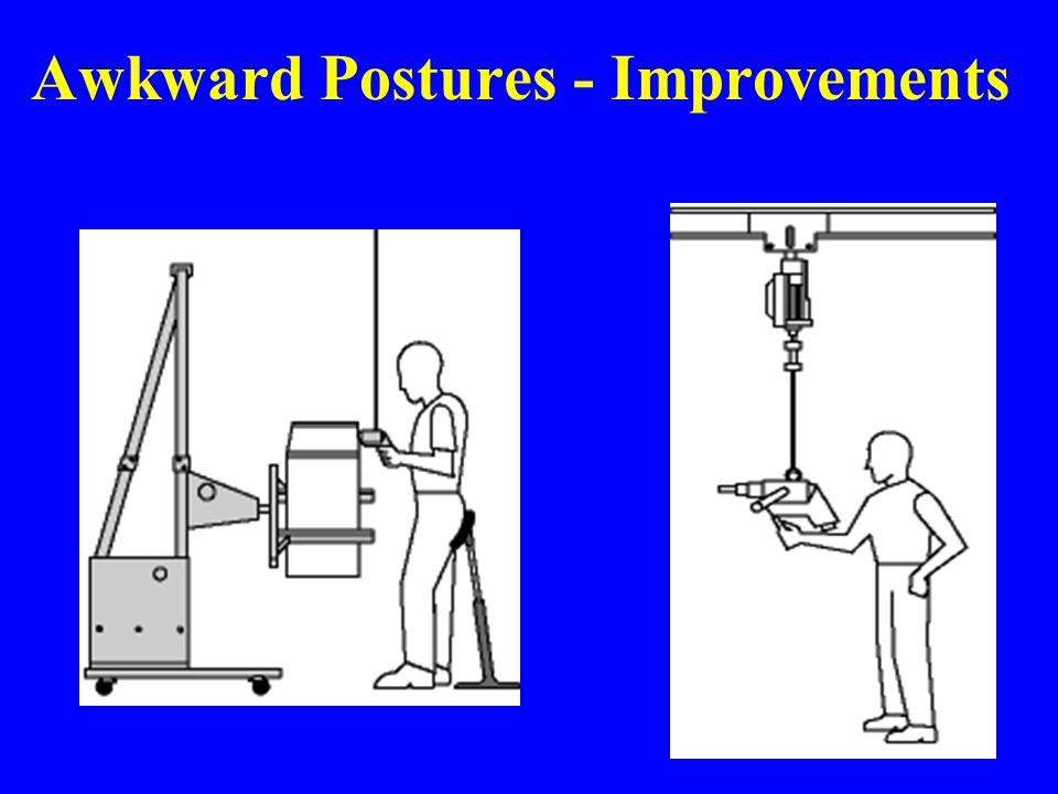 Awkward Postures - Improvements