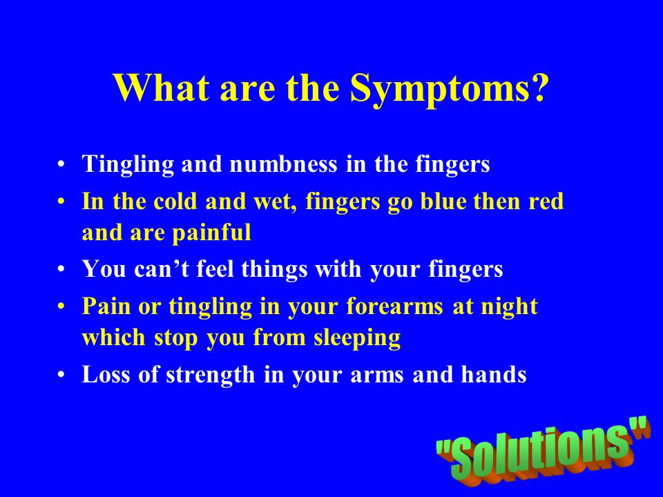 What are the Symptoms Solutions