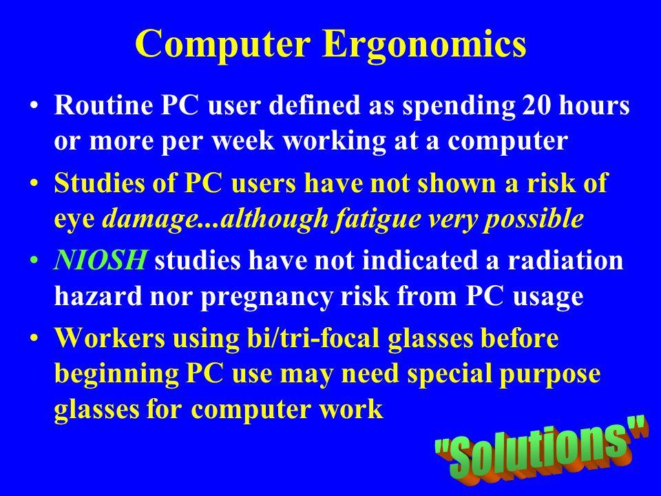 Computer Ergonomics Solutions