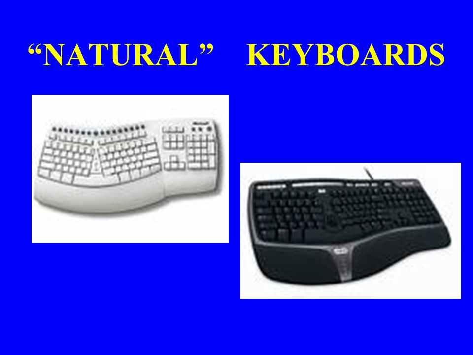 NATURAL KEYBOARDS