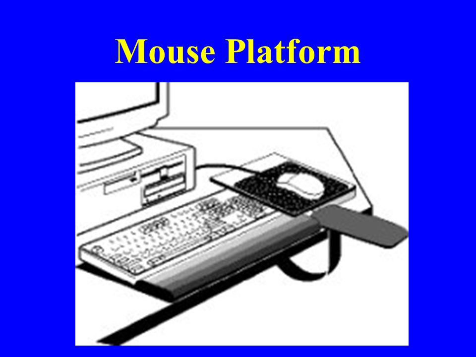 Mouse Platform Advantages of this platform: