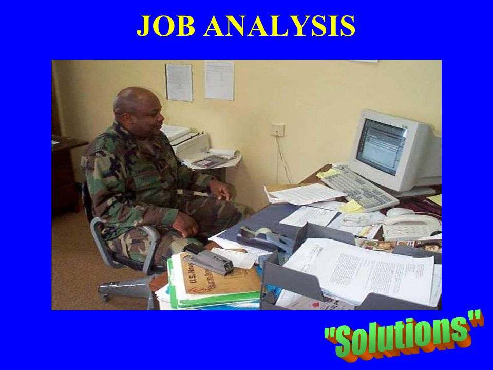 JOB ANALYSIS Solutions