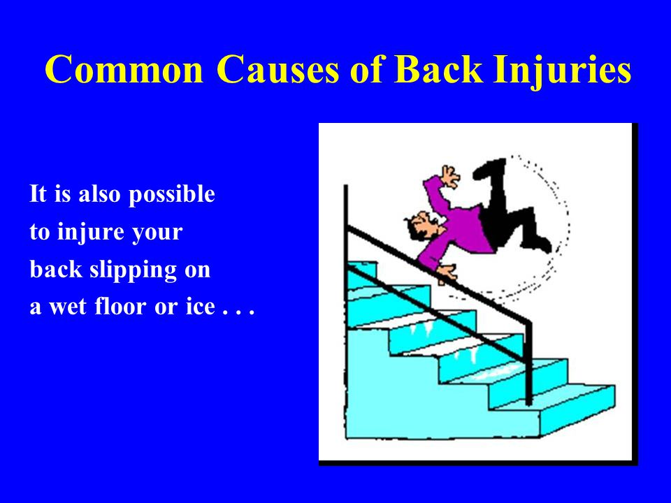 Common Causes of Back Injuries