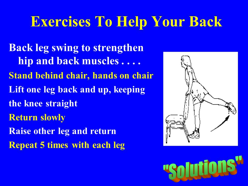 Exercises To Help Your Back