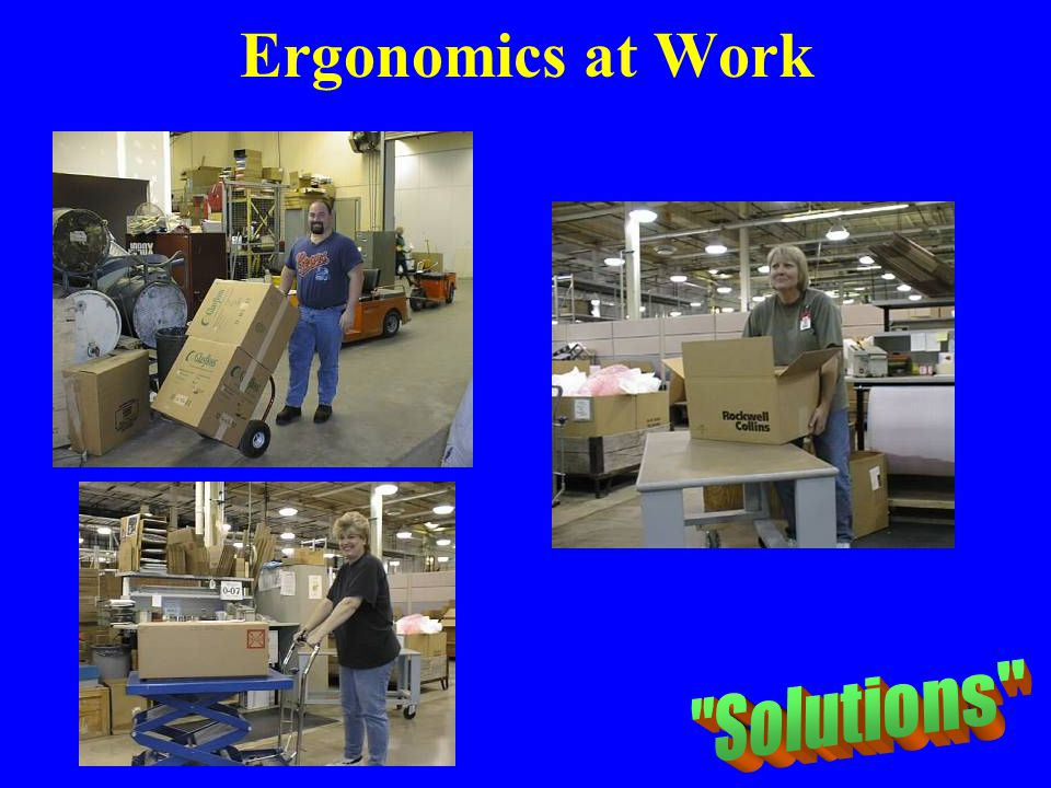 Ergonomics at Work Solutions