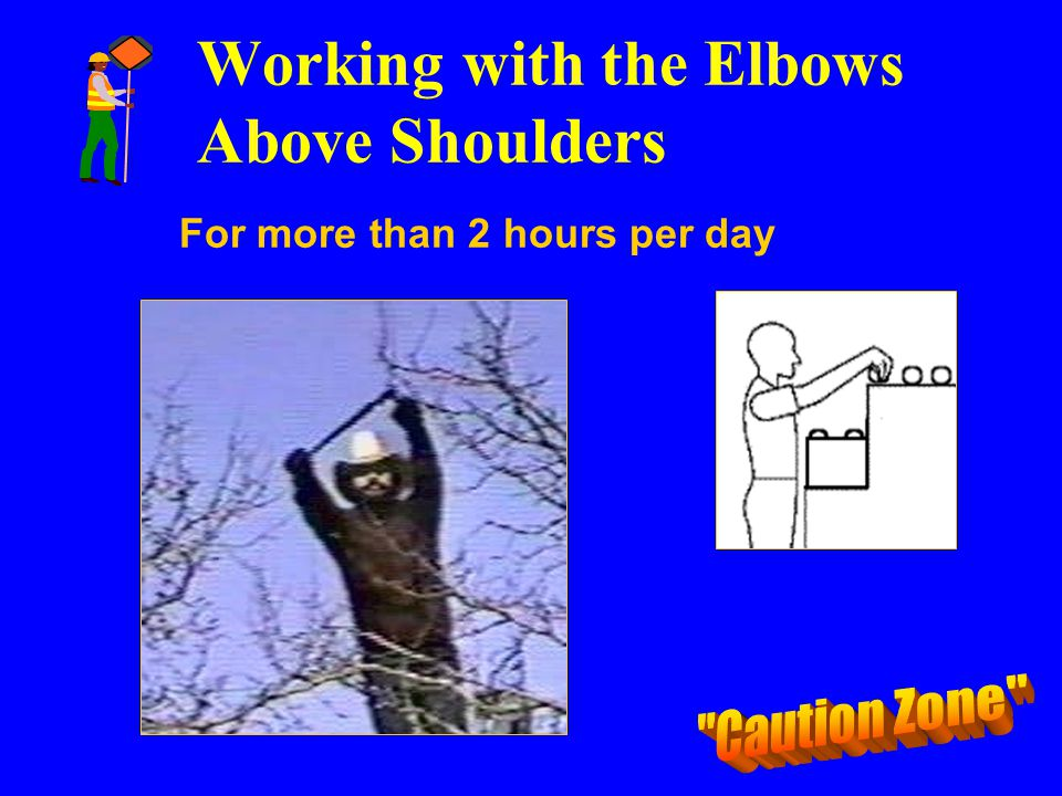 Working with the Elbows Above Shoulders