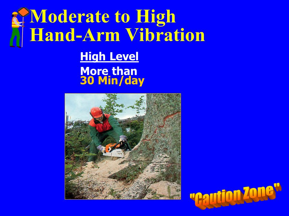 Moderate to High Hand-Arm Vibration