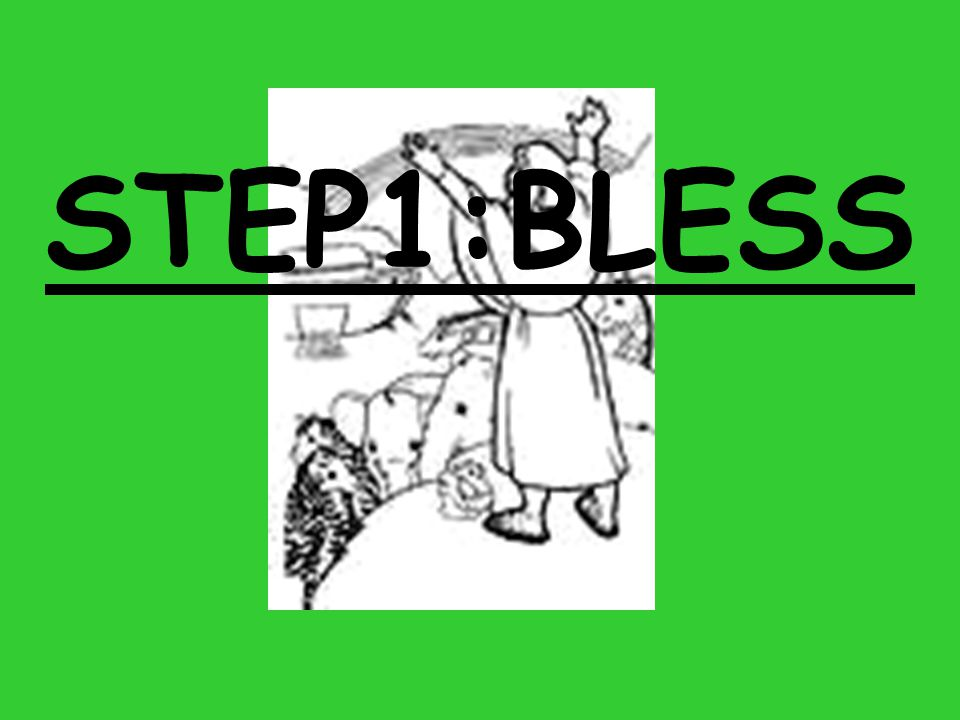 STEP1:BLESS