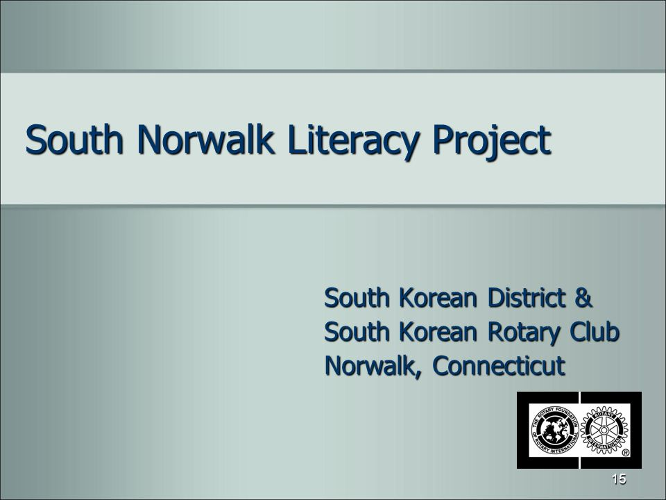 South Norwalk Literacy Project