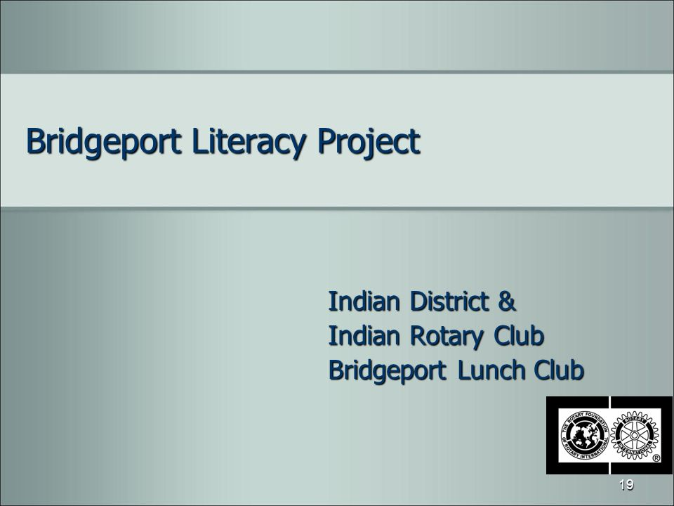 Bridgeport Literacy Project