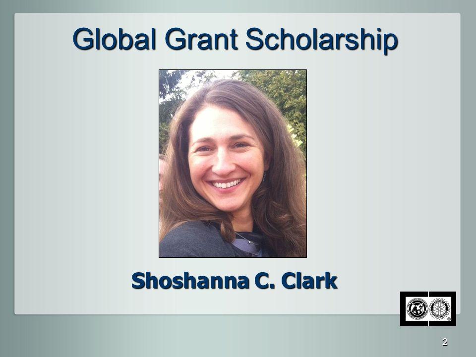 Global Grant Scholarship