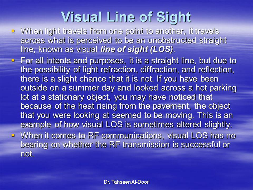 Visual Line of Sight
