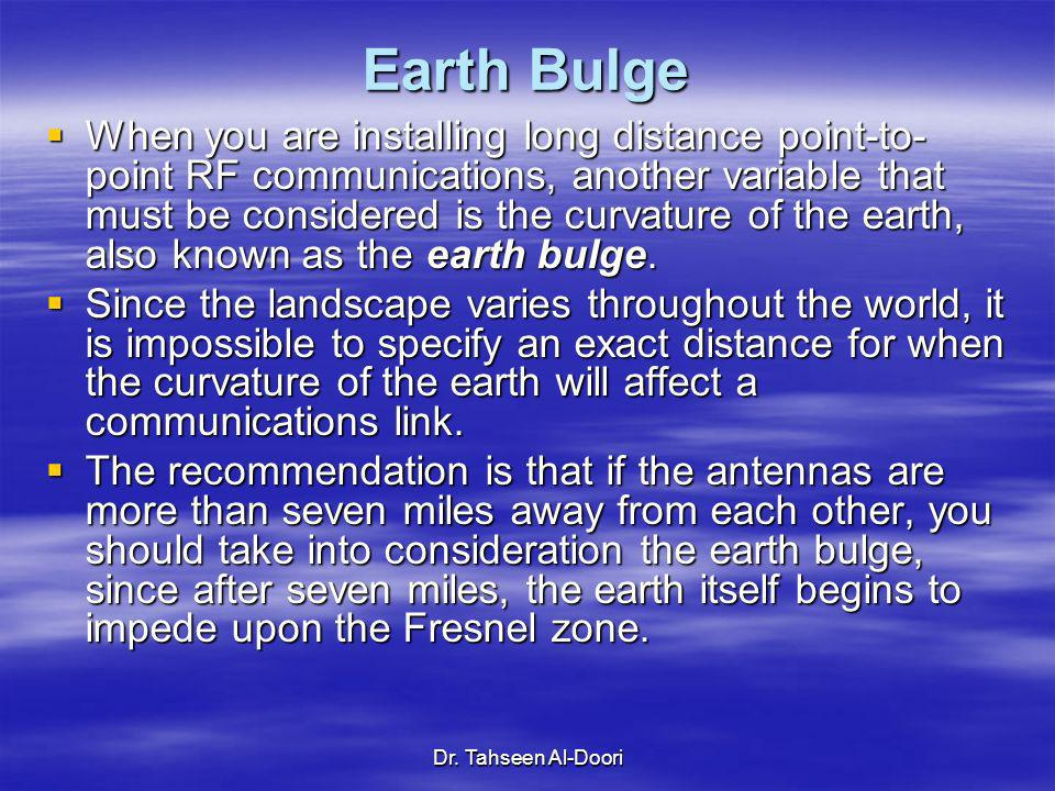 Earth Bulge