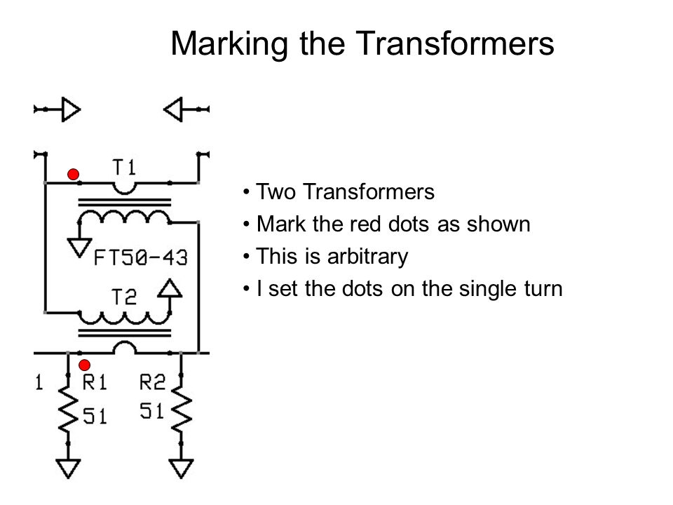 Marking the Transformers