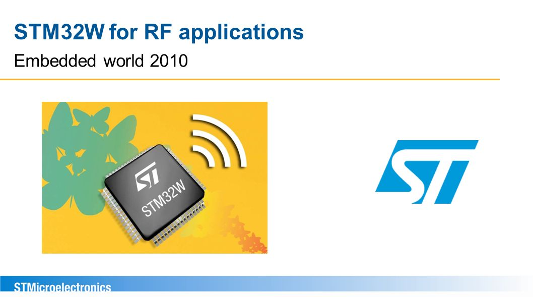 STM32W for RF applications