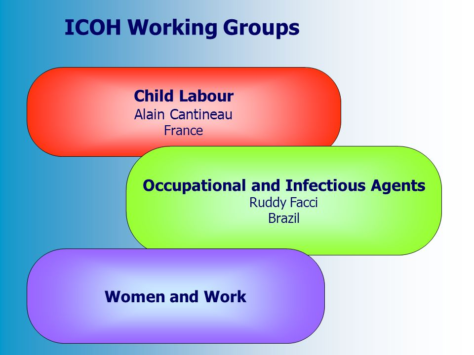 Occupational and Infectious Agents