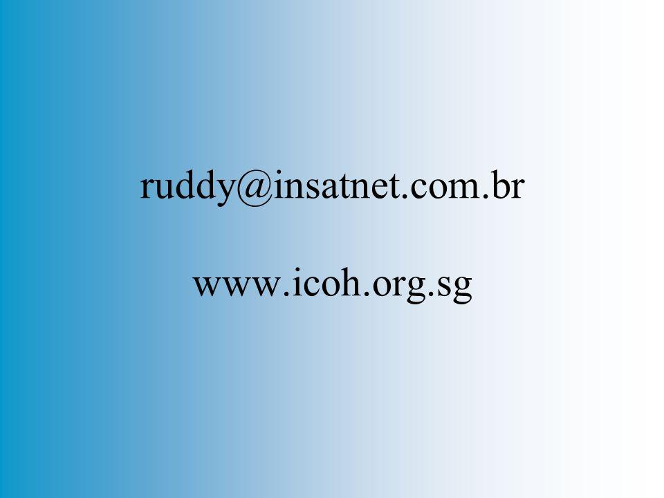ruddy@insatnet.com.br www.icoh.org.sg