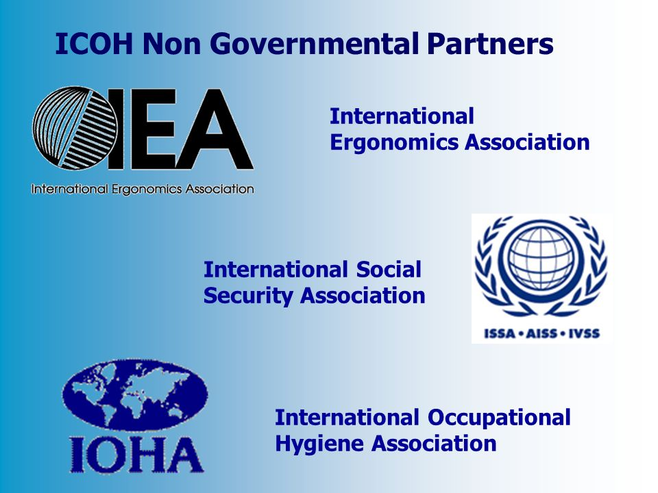 ICOH Non Governmental Partners