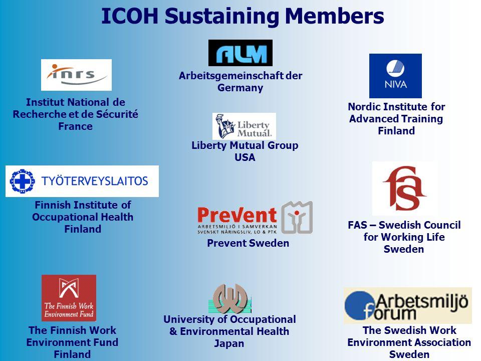 ICOH Sustaining Members