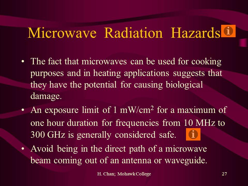 Microwave Radiation Hazards
