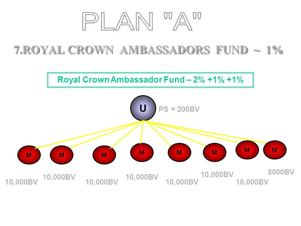7.ROYAL CROWN AMBASSADORS FUND ~ 1%