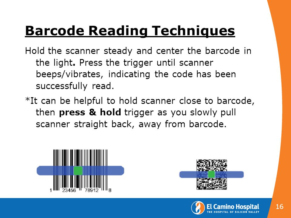 Barcode Reading Techniques