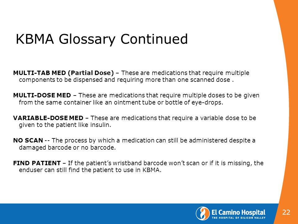 KBMA Glossary Continued