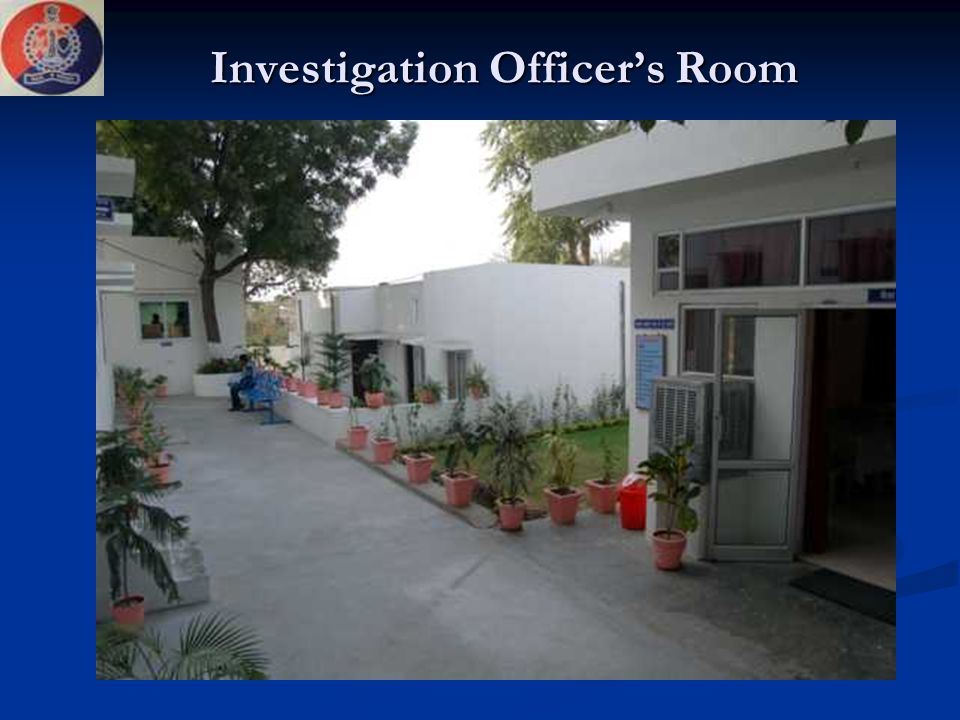 Investigation Officer's Room