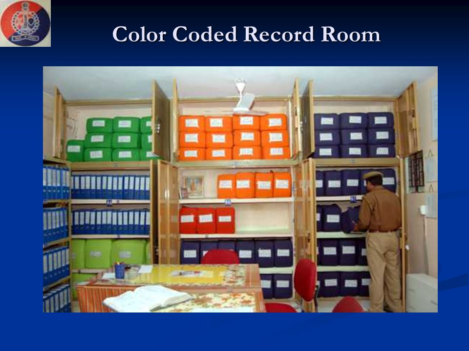 Color Coded Record Room