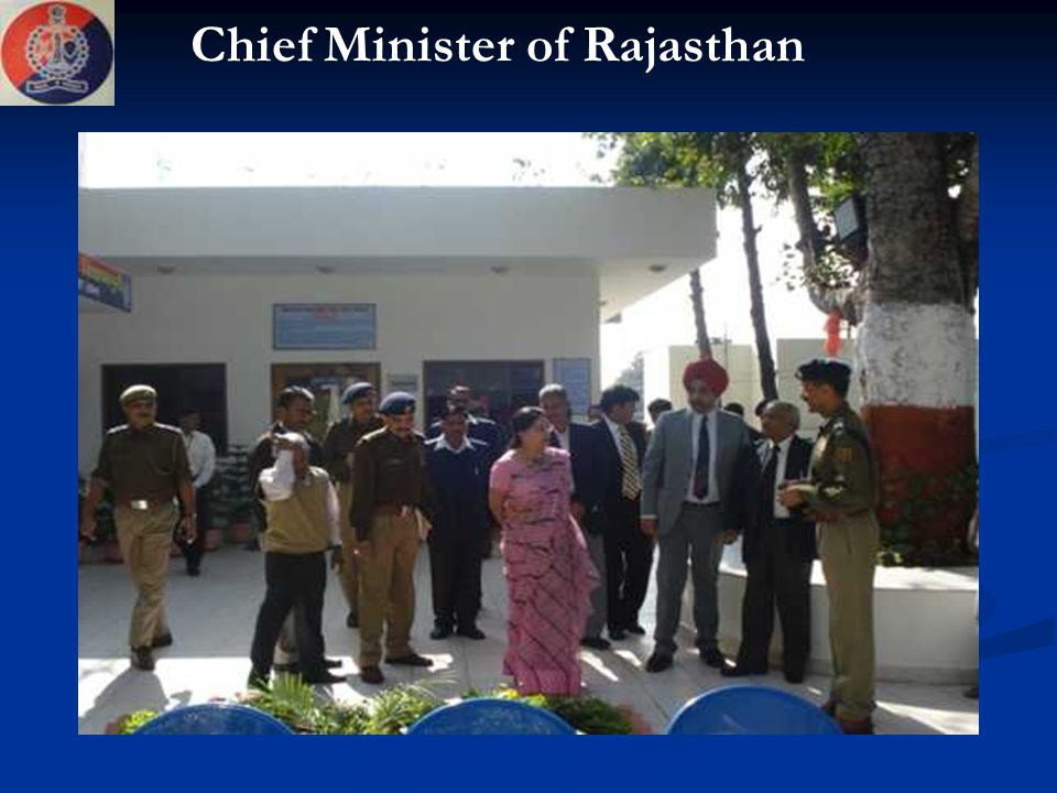 Chief Minister of Rajasthan